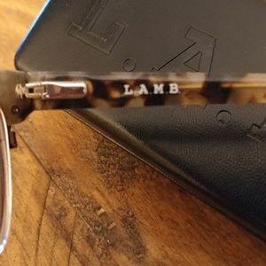 687cef513dd L.A.M.B. Accessories - L.A.M.B Eyeglass Frames   Case